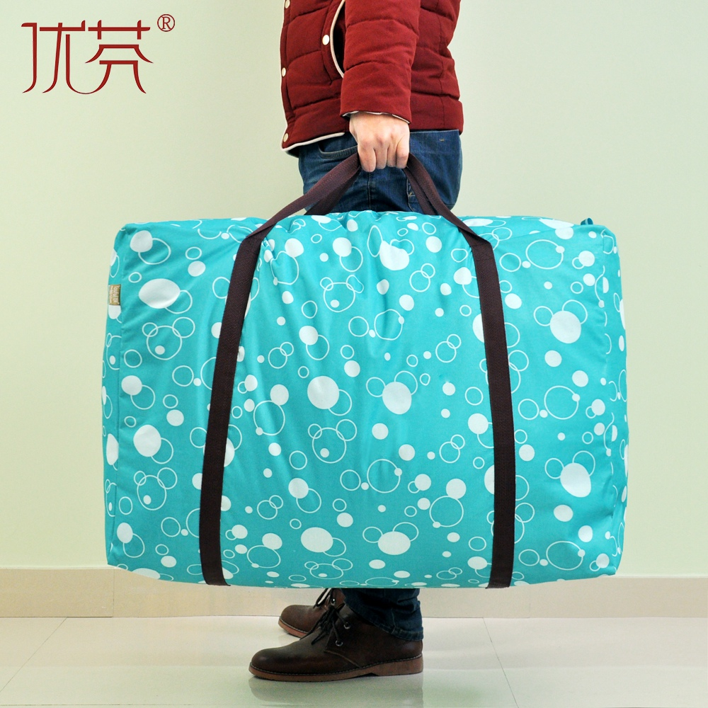 Fen excellent move bags thick waterproof oxford cloth bag fitted quilt bags quilt finishing bag storage bag line li Bags