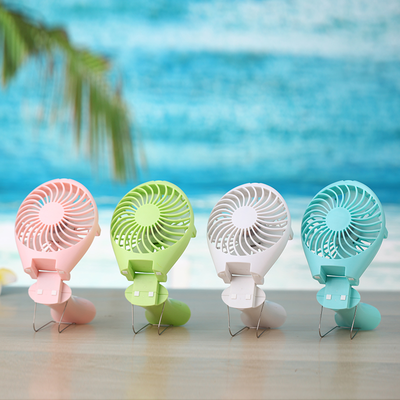 Feng li students carry cute mini fan usb rechargeable handheld portable electric fan mute small fan