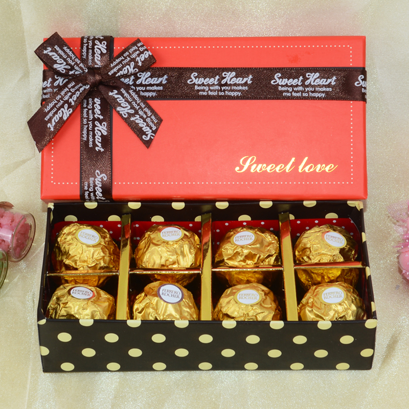 Get Quotations Ferrero Chocolate Gift Boxes With 8 Tablets Candy Married Yoshinobu Send Birthday Gifts Holiday In