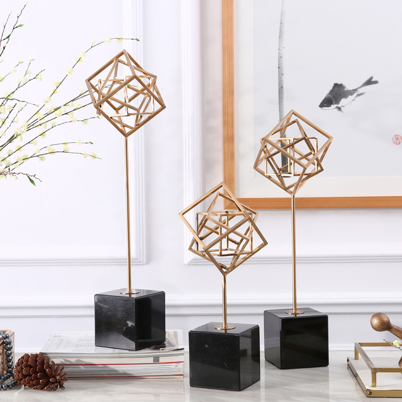 Find life modern abstract abstract geometric ornaments tv cabinet ornaments creative decorations party decoration