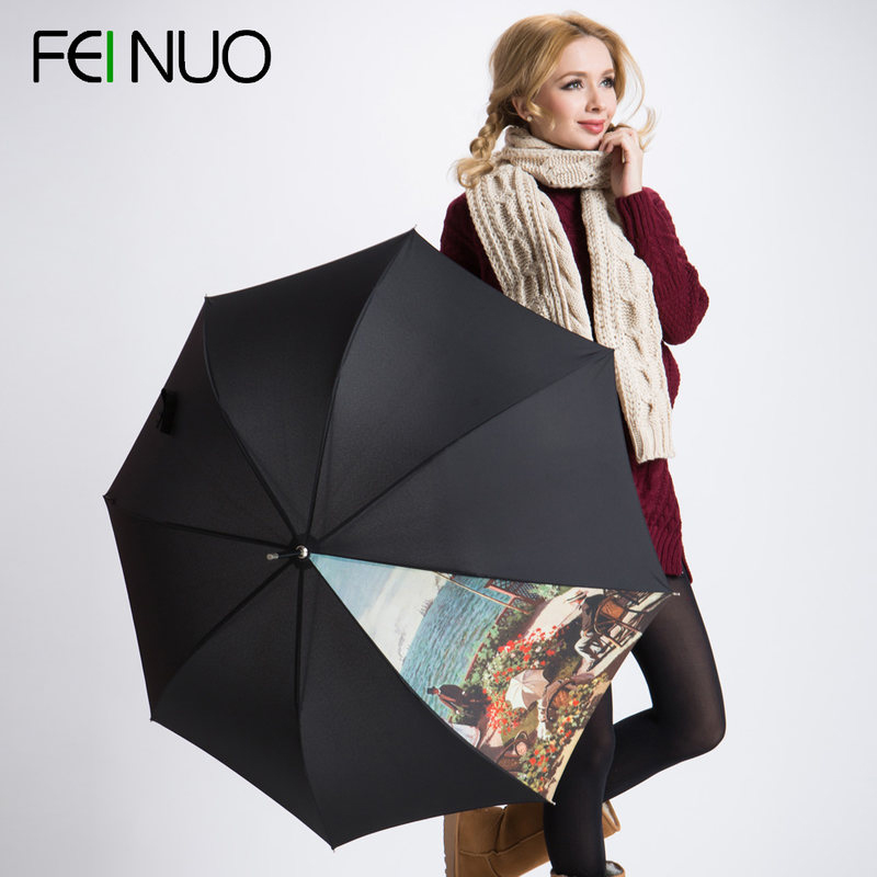 Fino canvas umbrella folding/skillet creative umbrella men oversized umbrella automatic umbrella free shipping