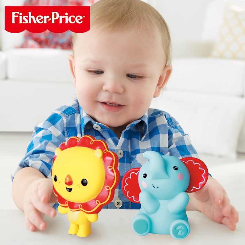 Fisher baby companion baby swimming bath toys tweak called children playing in the water spray water bath young children play in the water