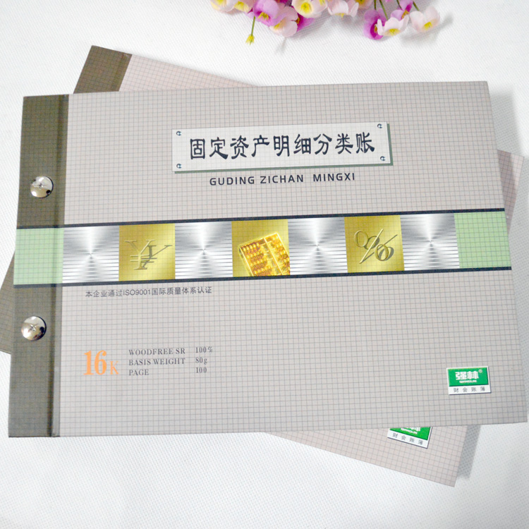 Fixed assets ledger 1801-16 k suits books qiang lin qiang lin books books office supplies