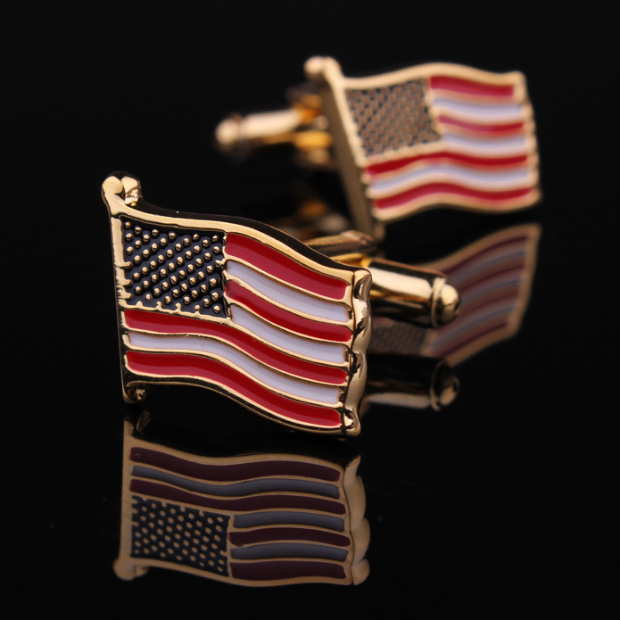 Flag cufflinks cufflinks cufflinks men's cufflinks french cuff shirt cufflinks cufflinks cufflinks cufflinks for men