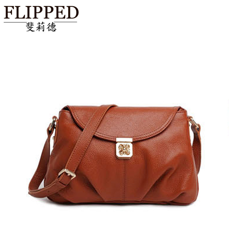 Flipped middleaged marmeeæède fashion handbags european style package cover type outdoor shoulder messenger bag