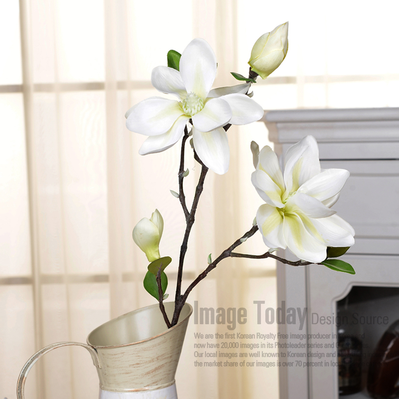 China artificial magnolia flower china artificial magnolia flower floor vase flower arrangement artificial flowers magnolia pink magnolia white artificial flowers decorate the living room mightylinksfo