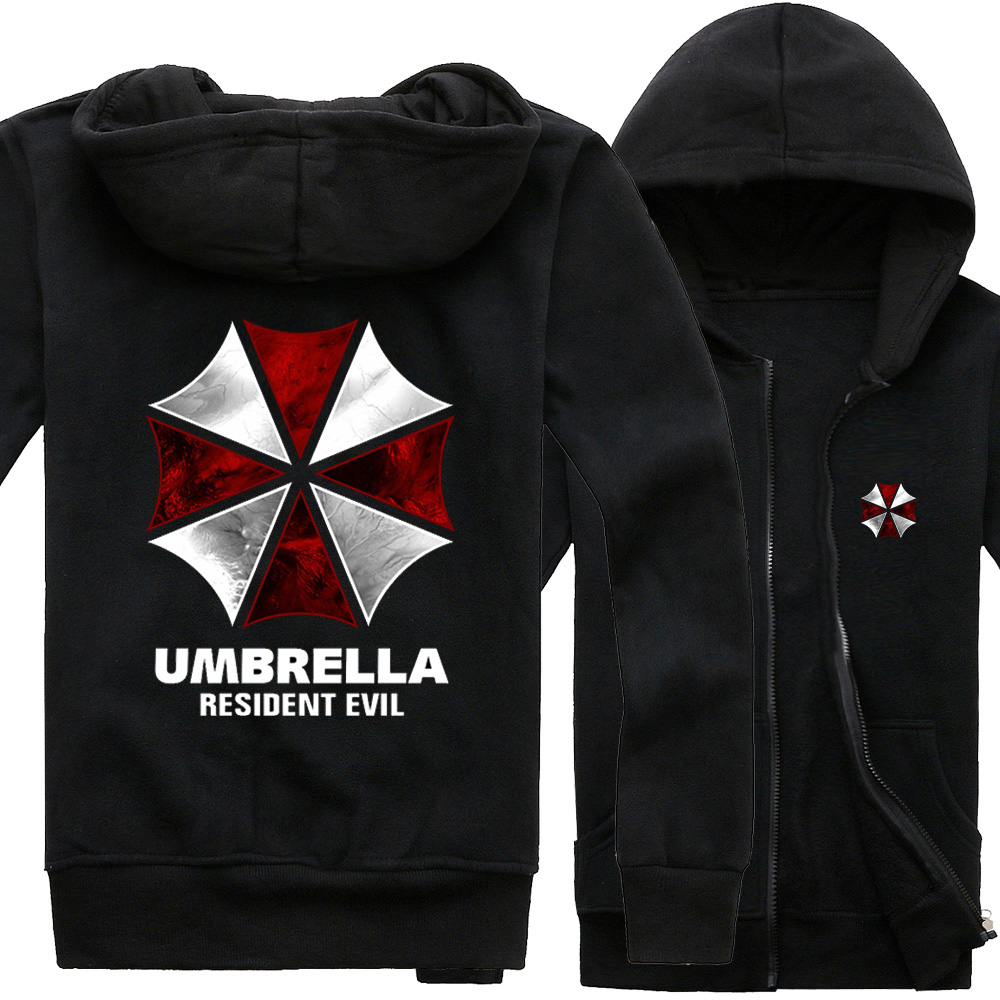 Florin cat sweater around the resident evil umbrella virus cos. clothes long sleeve coat