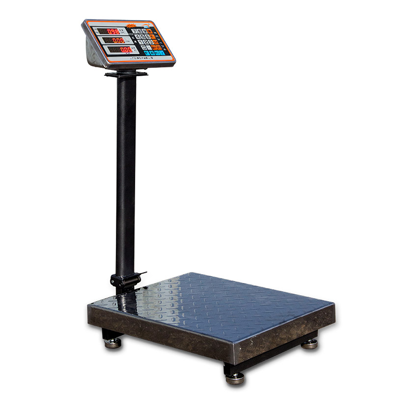 Flower tide/hc 150kg 300kg folding electronic scales electronic scales 100kg300kg electronic weighing platform called the pricing scale weighing