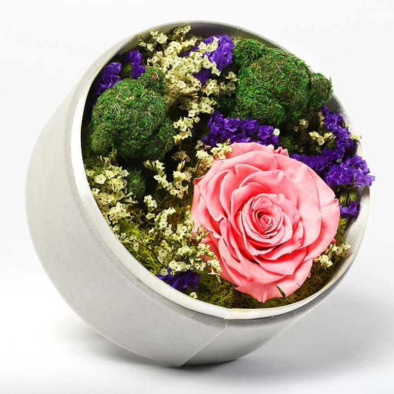 Flowers blooming giant preserved roses flower preservation preserved flower boxes custom xie ring ring will never withered roses flowers nationwide