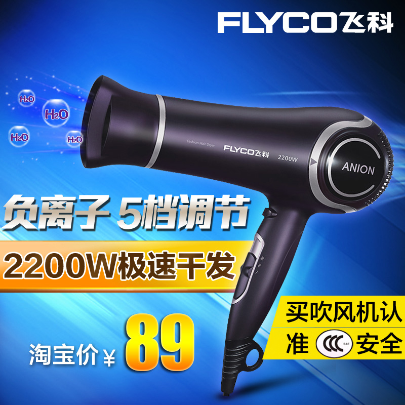 Flying branch fh6620 hair dryer household power hair dryer authentic cold wind anion hair dryer salon hair