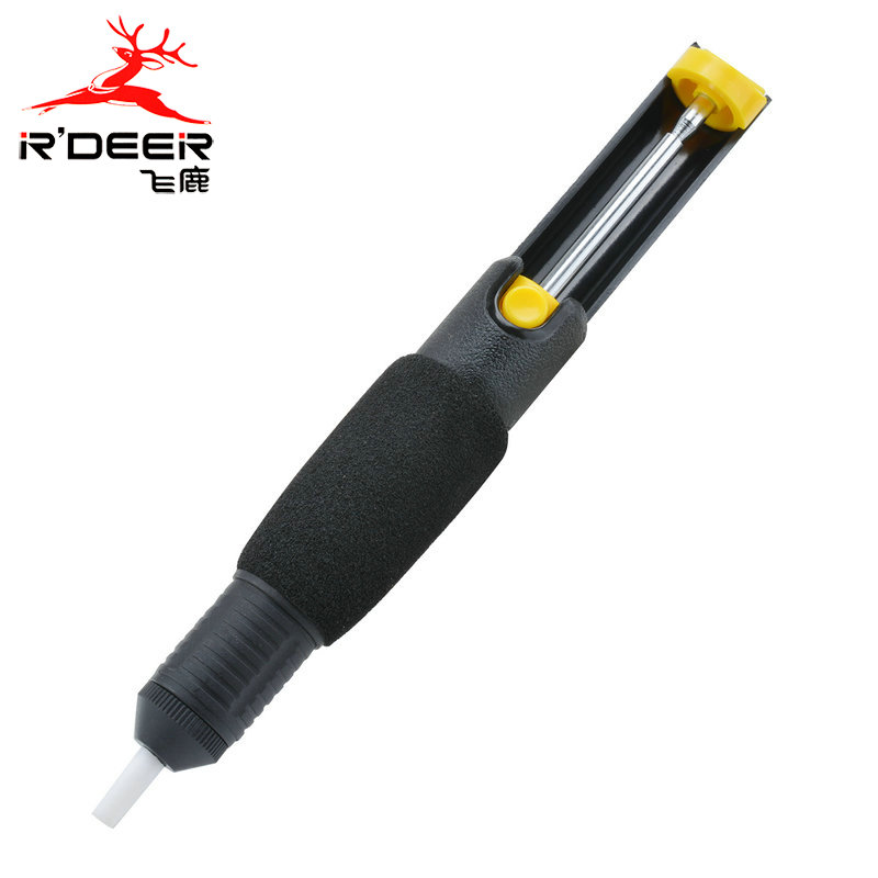 Flying deer bicyclic double open with one hand desoldering pump suction tin boutique slip suction tin gun RD-366D