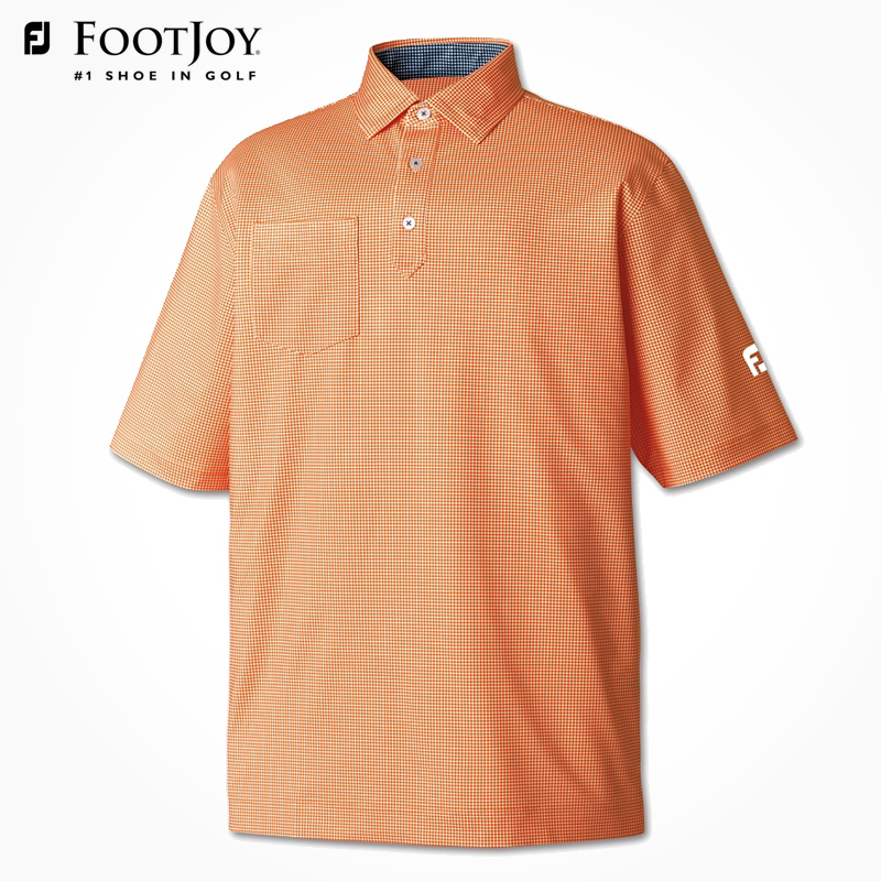 Footjoy fj golf golf apparel short sleeve t-shirt short sleeve golf shirt polo shirt #21034