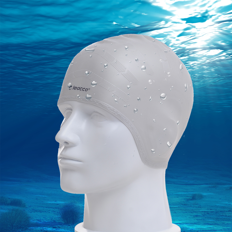 Get Quotations Force Cool Ear Waterproof Swimming Cap Hair Conditioner Bulk Of Silicone