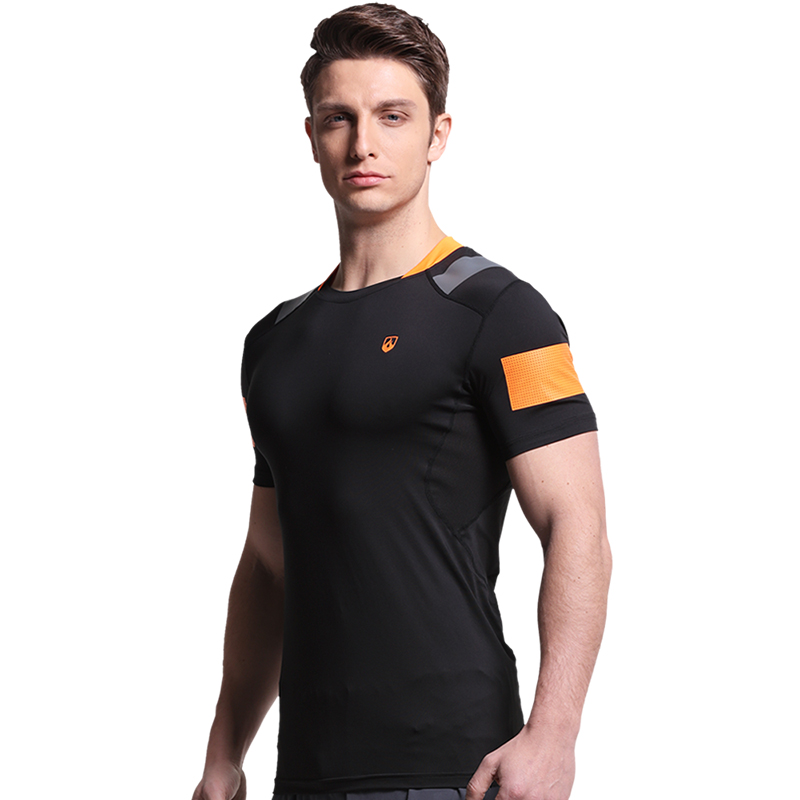 Force for the movement of t-shirts for men and tight t-shirt t-shirt running fitness wicking t-shirt t-shirt t-shirt men short sleeve summer