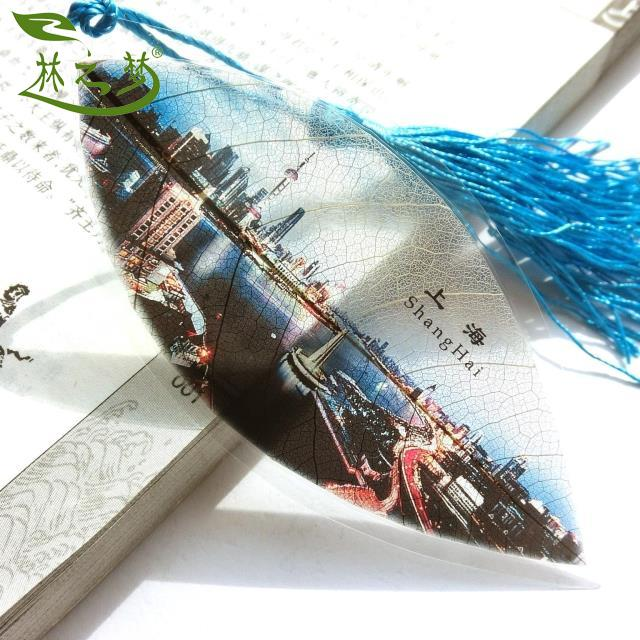 Forest dream vein bookmark souvenirs shanghai bund overseas chinese style gift to send foreigners wholesale custom