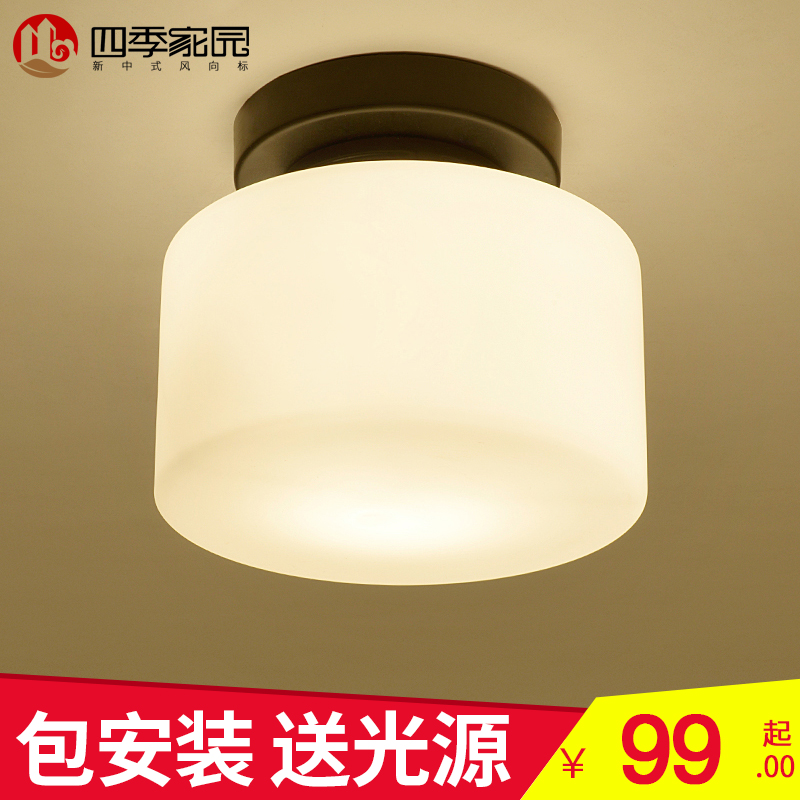 Four seasons home chinese ceiling lights aisle lights corridor lights new chinese chinese balcony entrance hall lamp lights home