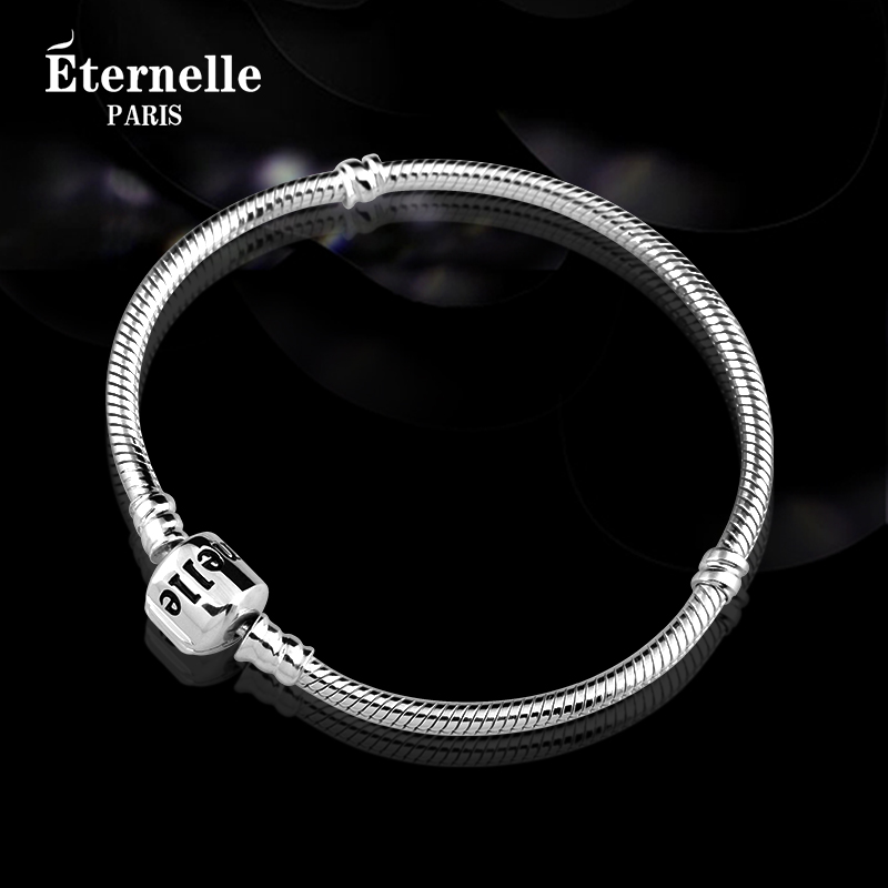 France eternelle fashion jewelry beads bracelet s925 silver bracelet fans throughout the series of diy accessories new