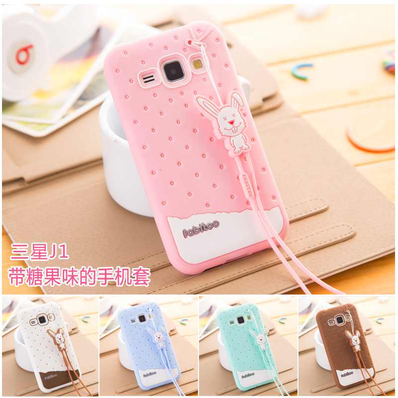 France pyrene rabbit samsung mobile phone sets d971j J100H J100H d971j d971j phone shell mobile phone protective sleeve silicone case