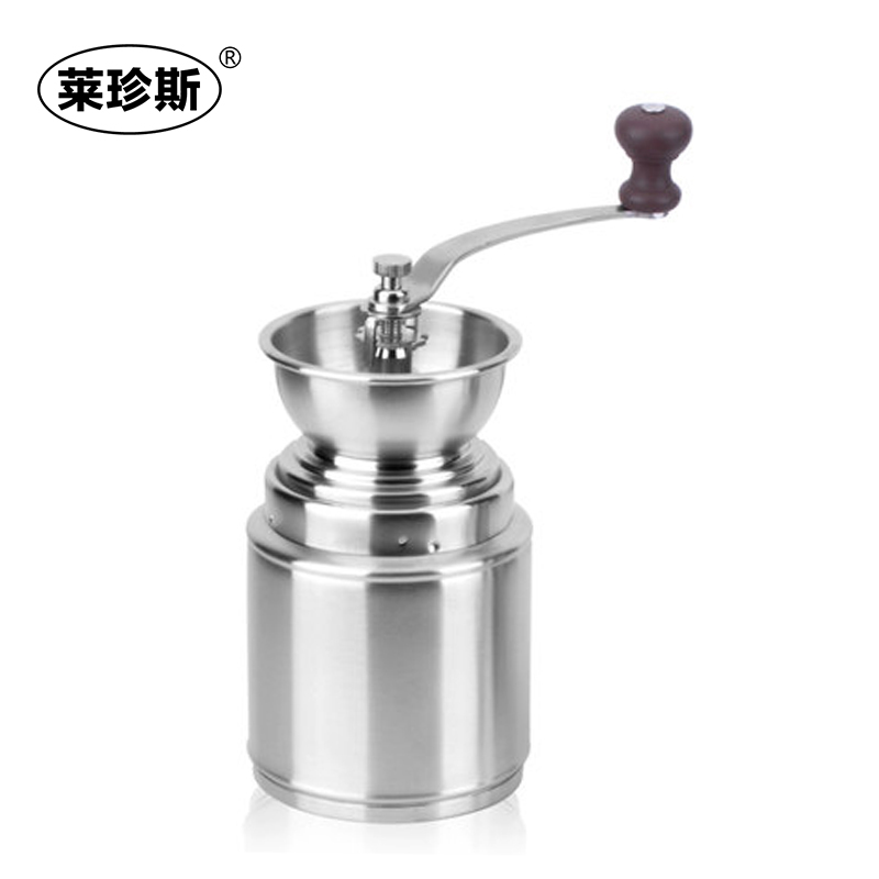 Free shipping 304 stainless steel manual hand grinder coffee grinder hand grinder coffee bean grinder with creative home Machine