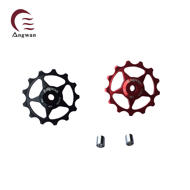 Free shipping authentic t multicolor own mountain bike rear derailleur rear derailleur guide wheel guide wheel guide wheel bike 11 tooth wheel equipment