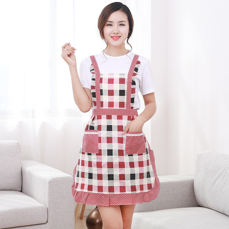 1328df74702 Get Quotations · Free shipping chef uniforms chef aprons korean fashion  cute sleeveless iopp gowns adult household kitchen