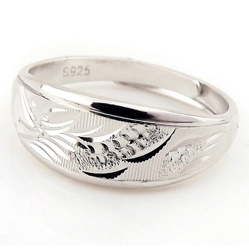 Free shipping dragon and phoenix dragon ring 925 silver rings couple rings couple rings on the ring opening couple ring