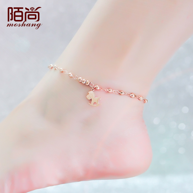 pure anklet choose gold style elegant and zoom the to sevzyiz of hover shiny anklets white