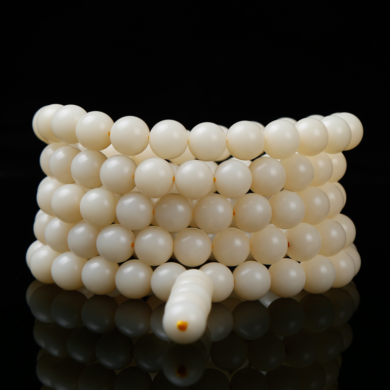 Free shipping natural white bodhi root bead bracelet necklace beads bracelets pu tizi beads loose beads prime dié¢y108