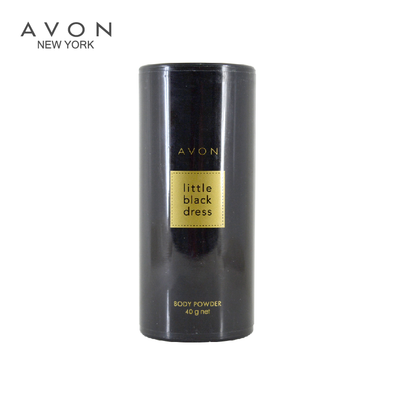Free shipping new 40g dry and comfortable chill powder avon little black dress body classic oriental floral notes