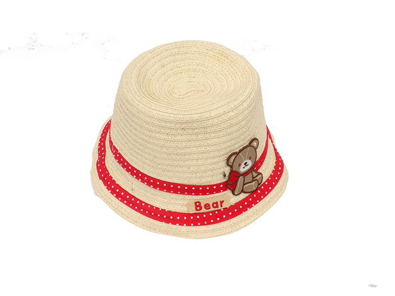 Free shipping nop hats products influx of goods for children sun hat straw hat children sun hat baby boys and girls summer sun