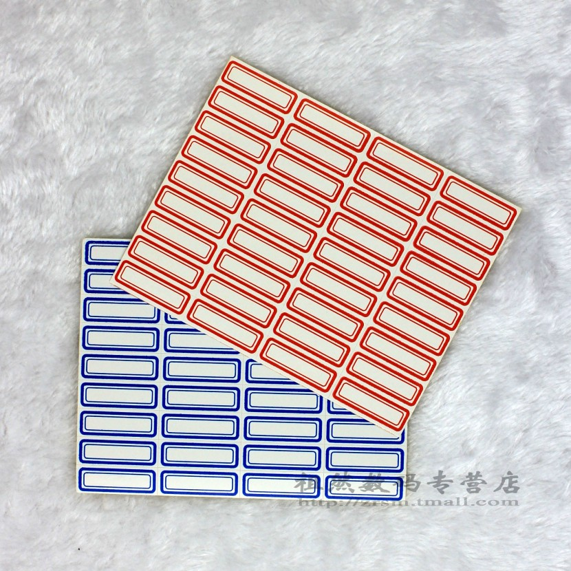 Free shipping over 106 adhesive label paper sticker sticker label paper 34*12mm a 10 price