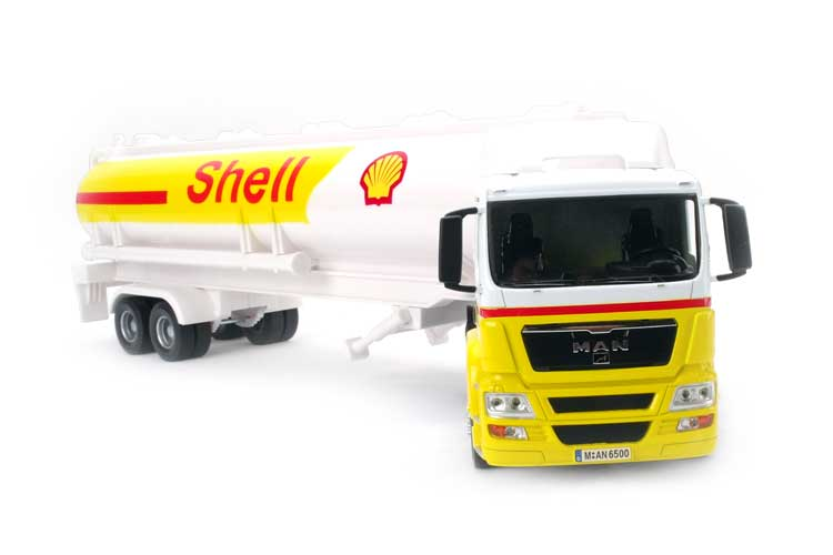 Free shipping super alloy 1:32110 csl tanker truck container truck model toy car model