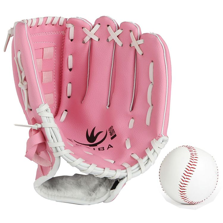 Free shipping to send baseball pitcher baseball glove softball gloves tournament pa environmentally degradable material does not hurt the hand