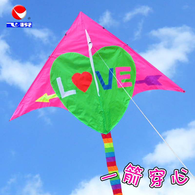 Free shipping weifang kite kite flying wyatt stone mandrel gliltor color color optional easy to fly