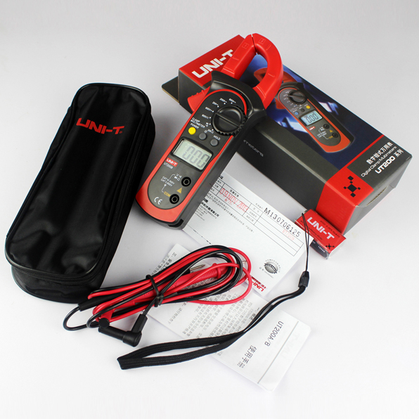Free shipping youlide digital clamp multimeter clamp meter digital clamp meter UT200AUT200B unité