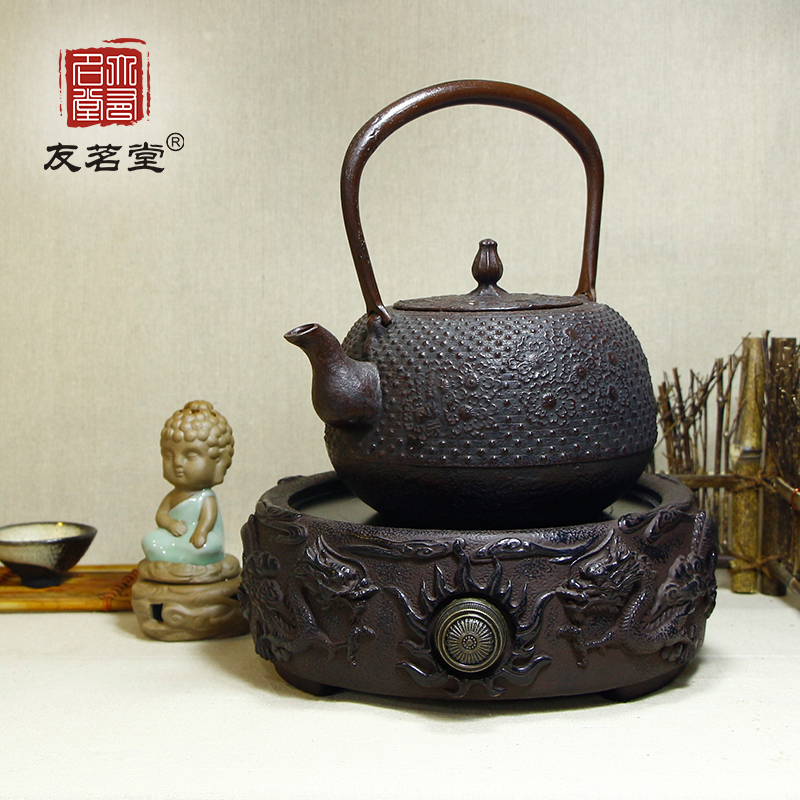 Friends of the ming tang electric ceramic stove cast iron stove mini electric ceramic stove iron kettle electric stove household electric cooker genuine