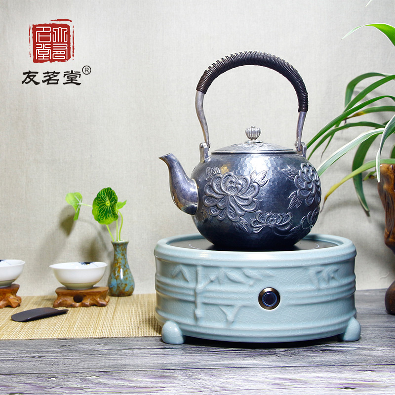 Friends of the ming tang household electric ceramic stove stove ceramic stove cast iron stove cooker pot boiling tea furnace electric furnace mini