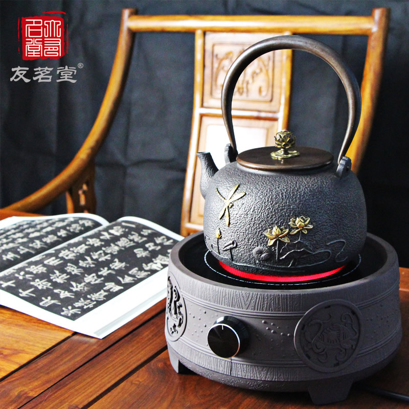 Friends of the ming tong tea tea small mini desktop household mute non cooker tea kettle electric ceramic heaters Stove
