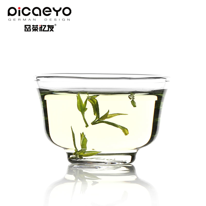 Friends recalled tea sp-01 transparent pyrex glass tea cup a cup kung fu tea cup single loaded