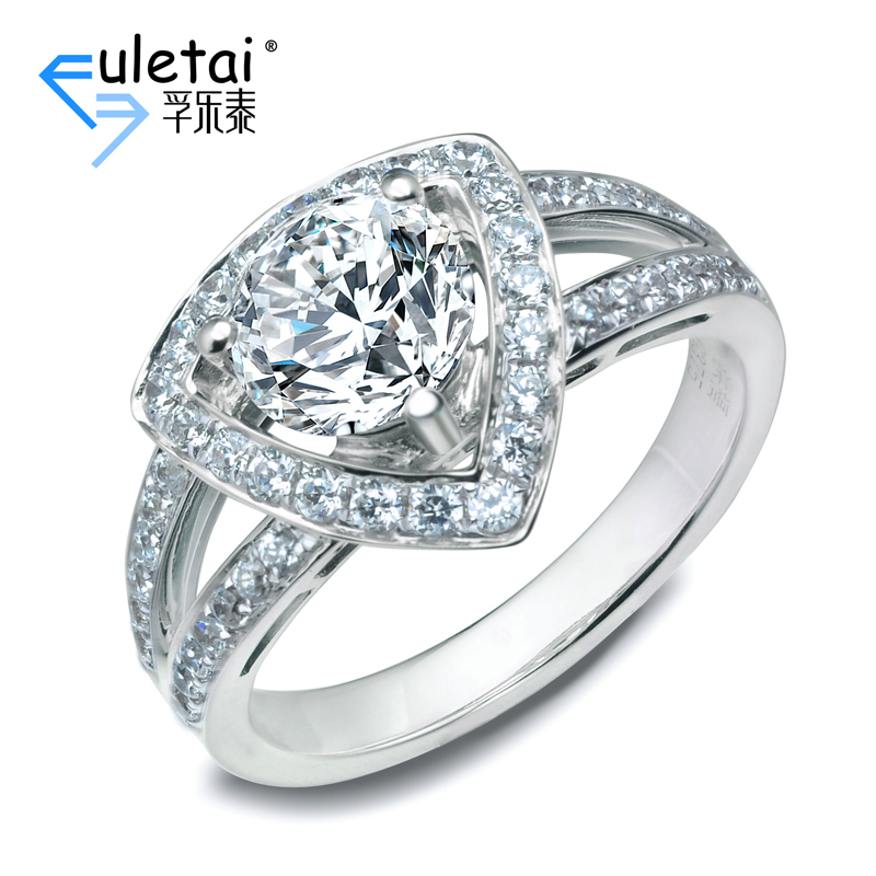 Fu loctite pt900 platinum setting new elegant elegant luxury diamond ring setting ring setting custom