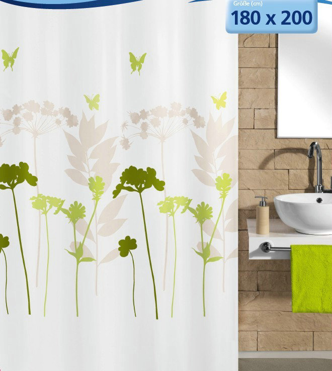 Full bloom free shipping shower curtain shower curtain waterproof polyester shower curtain shower curtain thick waterproof mildew shower curtain thick waterproof shipping