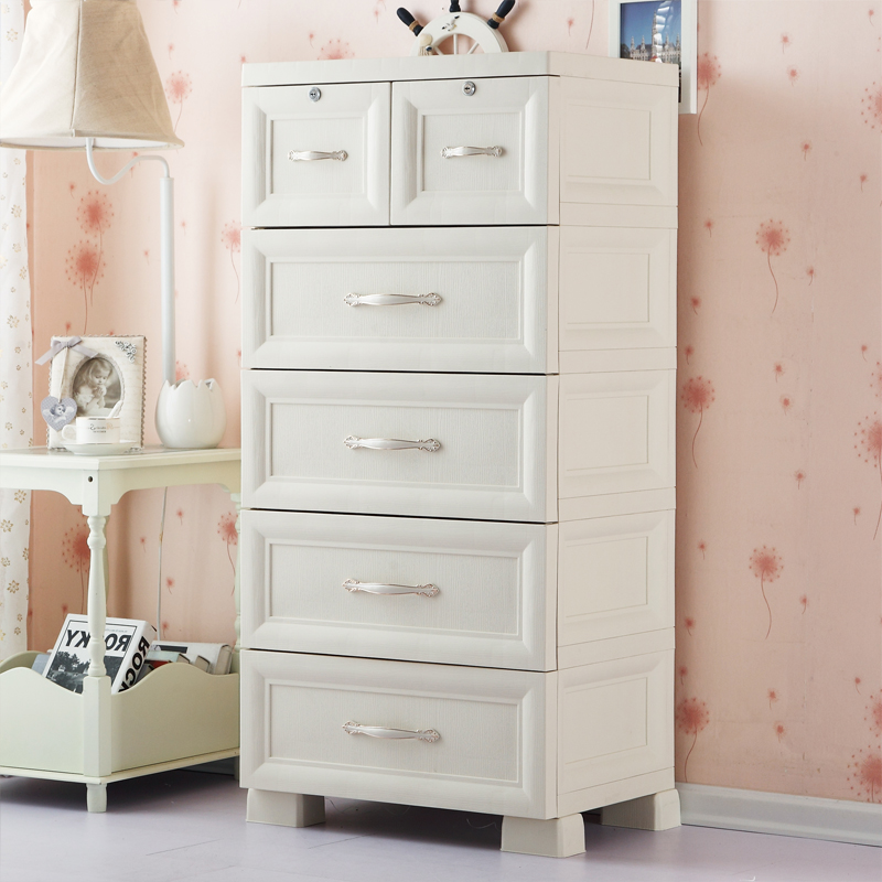 Fuqiang euclidian chest of drawers storage cabinets lockers finishing cabinet multilayer plastic drawer storage cabinets lockers baby wardrobe children