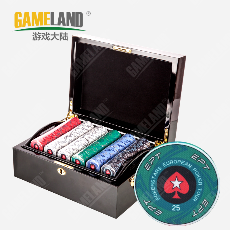 Game mainland ept grade ceramic packages chips texas poker chips baccarat texas hold'em ceramic