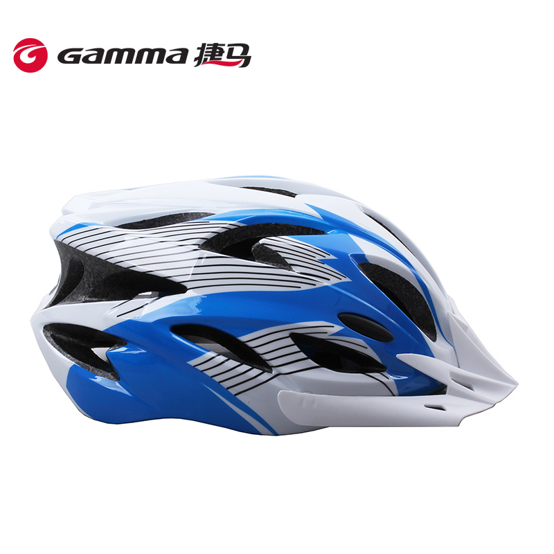 Gamma/jie ma accessories adult forming one bicycle helmet safety helmet mountain road bike dead fly tide brand men and women