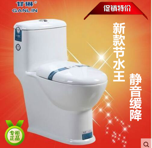 Gan lin new bathroom piece toilet toilet toilet water saving mute are'small small-size small apartment bathroom toilet