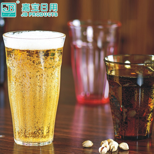 Garbo pc plastic imitation glass cup water cup of tea restaurant bar drinks juice cup cold beer mug tea