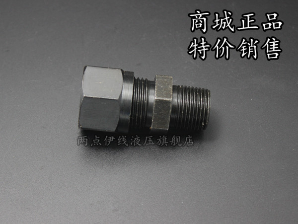 Gb/t3734 iron fittings hydraulic fluid marine fittings card sets straight tapered thread fittings carbon steel 18