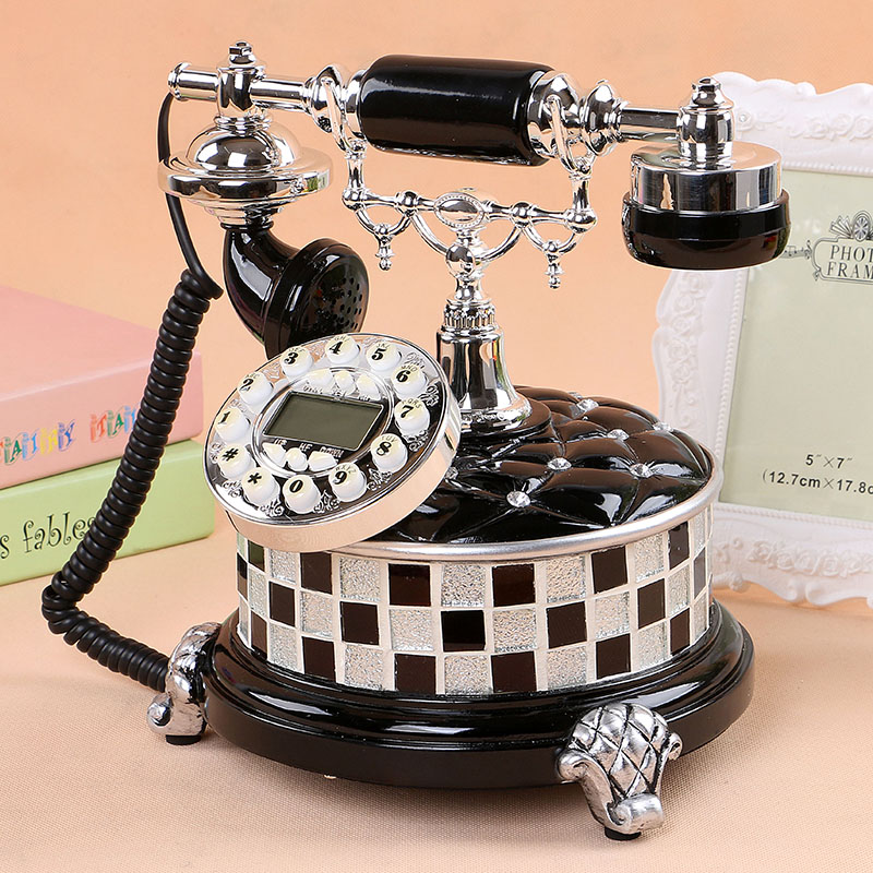Gdids european retro vintage antique telephones fashion creative personalized home office telephone telephone seat