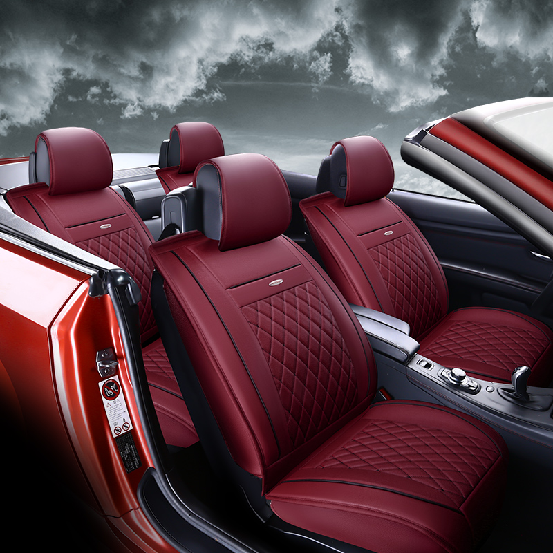 Geely imperial ec715-rv sedan two car seat summer EC718RV12/13 models of the whole package pu leather seat
