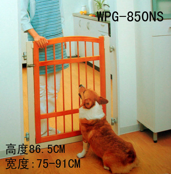 Get Quotations · Genuine Alice Iris Pet Fence Gate Isolated Gate Fence Dog  Fence Pet Spill Solid Wood Door
